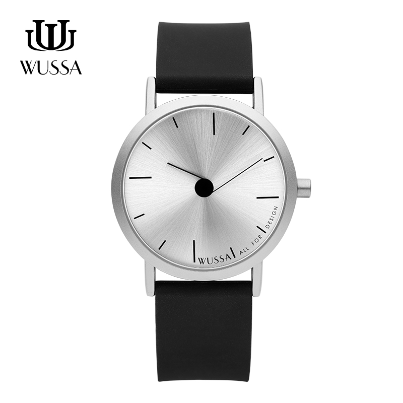 WUSSA  Note Series Simple Neutral Quartz Couple Watch