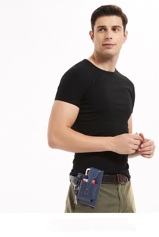 Retro Men's Belt Waist Bag