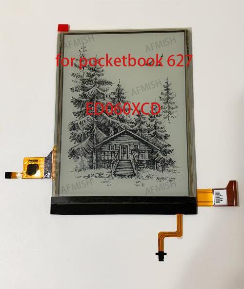 ED060XCD 100% новый e ink ЖК-экран для pocketbook 627 touch lux 4 PB627 с подсветкой и сенсорным экраном