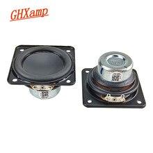 GHXAMP 2 inç 51mm neodimyum hoparlör 4Ohm 20W tam aralıklı bas hoparlör kauçuk kenar 20 çekirdek ses bobini ses sürücüsü için parçaları Diy