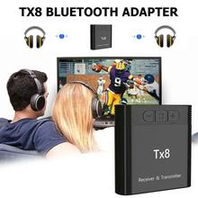 Bluetooth 5.0 Wireless Music Adapter TX8 Computer Portable T