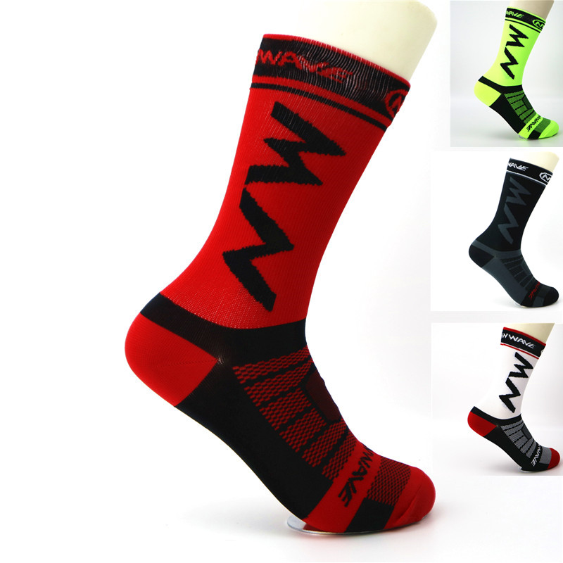 NEW Mens Womens Riding Cycling Socks Bicycle Sports Socks Breathable Socks Basketball Football Socks Fit For 40-46