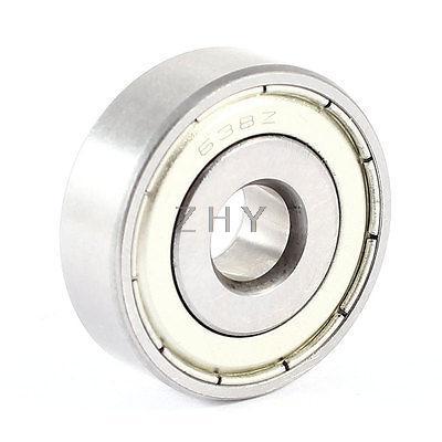 8mmx28mmx9mm Sealing Single Row Deep Groove Ball Wheel Bearing 638Z
