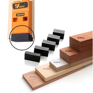Image 5 - Système de Kit de gabarit de trou de poche de localisateur de trou incliné de travail du bois avec le foret détape et loutil de bricolage daccessoires