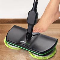 Charge électrique vadrouille à main sans fil électrique rotatif 360 degrés Machine de nettoyage domestique bonne aide|Serpillères| |  -