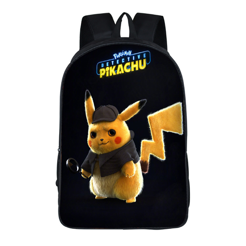 Cartooon Pokemon Backpack Teens Kids Boys Girls Pikachu School Bags Womens Mens Laptop Backpacks