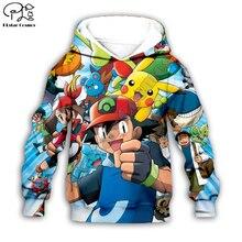 Kids Cloth Pokemon  Pikachu Cartoon 3d hoodies/tshirt/boy sweatshirt Hot Movie pant style-1