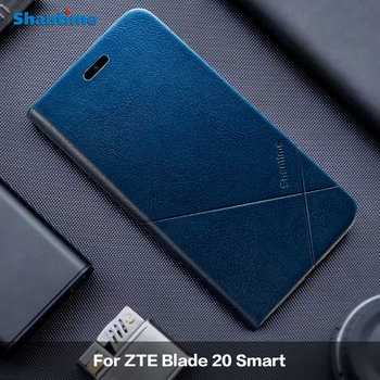 For ZTE Blade 20 Smart Leather Case For ZTE Blade 20 Cover For ZTE Blade A7 2020 Case For ZTE Blade A5 2020 Phone Case фото