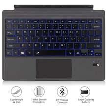 Беспроводная bluetooth клавиатура магнитная энергосберегающая