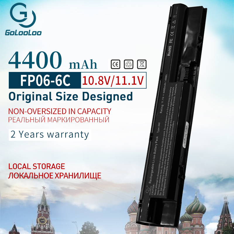 Golooloo Laptop Battery for HP COMPAQ ProBook 440 445 455 450 470 G0 G1 G2 Series HSTNN-W96C HSTNN-W97C HSTNN-W98C HSTNN-YB4J