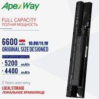 4400 Mah Laptop Batterij Voor Hp Probook 450 470 440 G0 455 G1 707616-242 FP06 H6L26AA H6L26UT