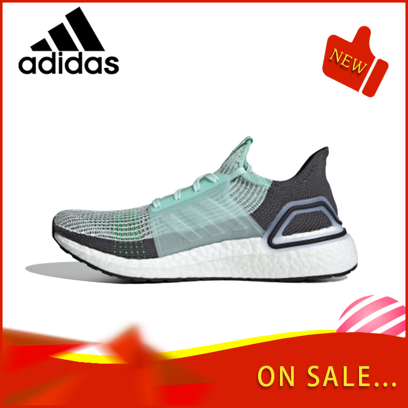 Original Authentic Adidas ULTRABOOST 19 Men And Women Running Shoes Classic Breathable Outdoor Sports Shoes F35244/F35285