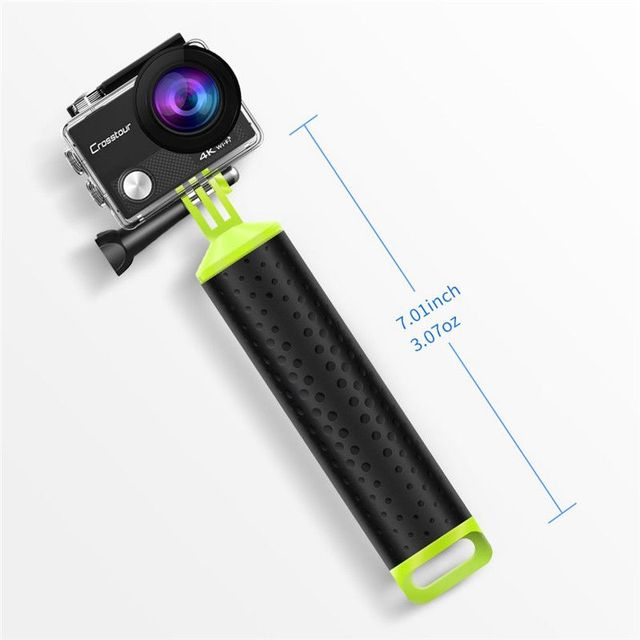 Universal Floating Hand Grip Waterproof Handle Hand Grip Buoyancy Bar Monopod for Gopro Hero 5 4 3 Xiaomi Yi Action Camera 2 4K