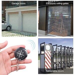 Image 4 - Kebidu controle remoto de 433mhz, controle remoto para portão, sem fio, rf, 4 canais, clonagem elétrica, para portão, porta de garagem e carro, chaveiro