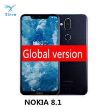 NOKIA 8.1 Global version Cellphone 6.18inch 4GB RAM 64GB ROM NFC Snapdragon 710 Android 10 3500mAh 18W Fast charge Mobile Phone(China)