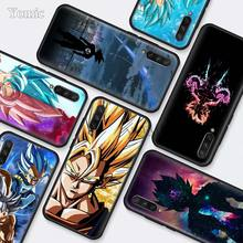 dragon ball Ultra Instinct Vegeta Black Silicone Cases for Xiaomi Mi A3 Lite CC9E 9T 5X 6X 8 A2 A1 Play Pocophone F1 Cover