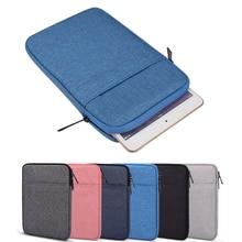 Мягкий планшет рукав для iPad воздуха 1 2 5 6 3 10,5 дюймов чехол сумка Pro 9.7 10.2 10.8 11