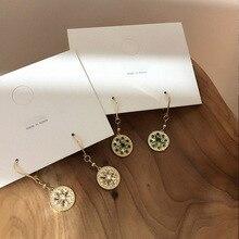female retro  zircon earrings simple temperament indian jewelry boho bohemian luxury