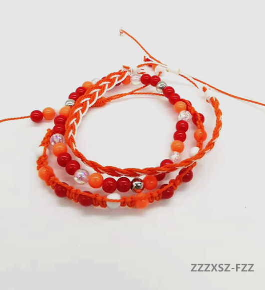 Rope Beads Stone Bracelets  1