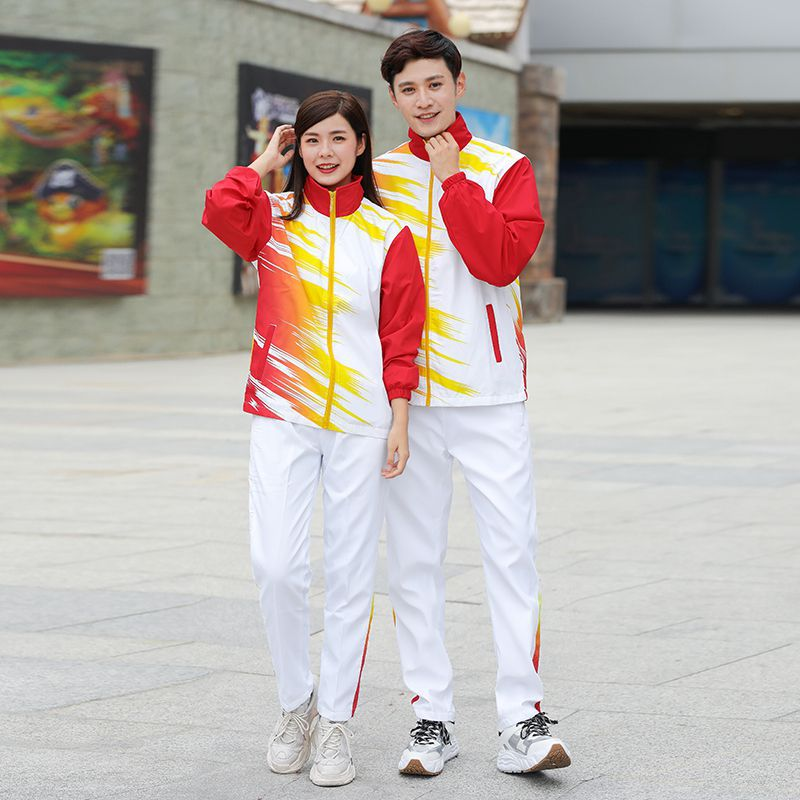 National Team Sports Set Men And Women Receive Service Olympic Uniform Students Business Attire Sports Clothing Martial Arts Wea