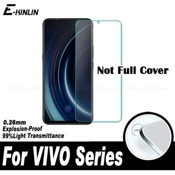 Перейти на Алиэкспресс и купить 0,26 мм 2.5D Защита экрана для VIVO Z1 U10 U20 X50 iQOO Neo3 Pro Neo 3 5G Закаленное стекло Защитная пленка
