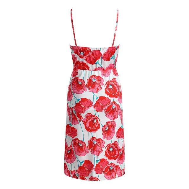 Long Maternity Floral Dresses for Women 5