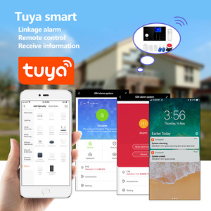Image 3 - Towode Alarm System Kit G34 GSM WIFI 4G Tuya Wireless Security Home With Camera Motion Detector Remote Control Siren 433mhz