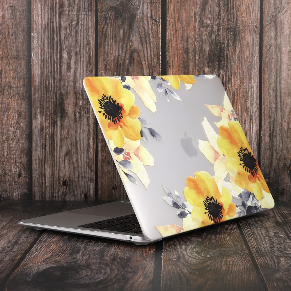 Marble Flower Bling Case for MacBook 92