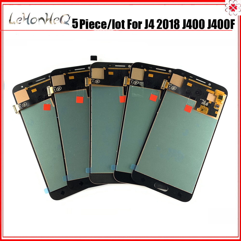 5 piece/lot 5.5'' incell LCD For <font><b>Samsung</b></font> <font><b>Galaxy</b></font> <font><b>J4</b></font> J400 J400F J400G LCD <font><b>Display</b></font> Touch Screen Digitizer Assembly Replacement image