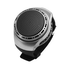 U6 Wrist Watch Bluetooth Speaker Card with Radio FM Portable Outdoor Sports Running LED Colorful 32GB Memory Card
