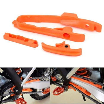Motorcycle Plastics Chain Guide Swing Arm Slider Brake Hose Clamp for KTM SX SXF 125 250 350 450 525 2011-2015