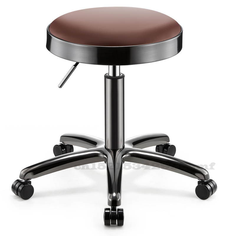 Stainless Steel Hair Salon Stool for Barber Shop Hairdressing Shop Rotary Lifting Stools Special for Beauty Shop  Tattoo Chair