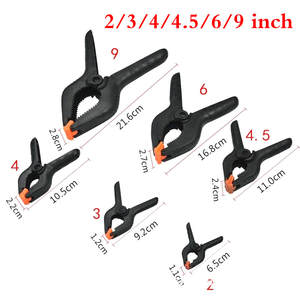 Spring-Clamps Woodworking-Tools Adjustable Plastic for Photo Studio Background DIY