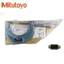 1 шт. Mitutoyo наружные Микрометры 0-25 25-50 50-75 мм точность измерения металлообработки 0,01 мм измерительные приборы измерения