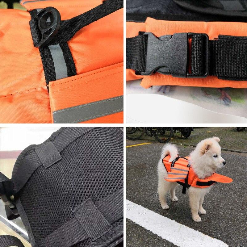 pet flotation colete salva-vidas cães cachorro maiô