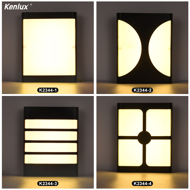 Indoor Outdoor Led Wall Lighting 18W Plastic Waterproof Porch LED Wall Lamp Garden Light Bedside Bathroom Stair celling light
