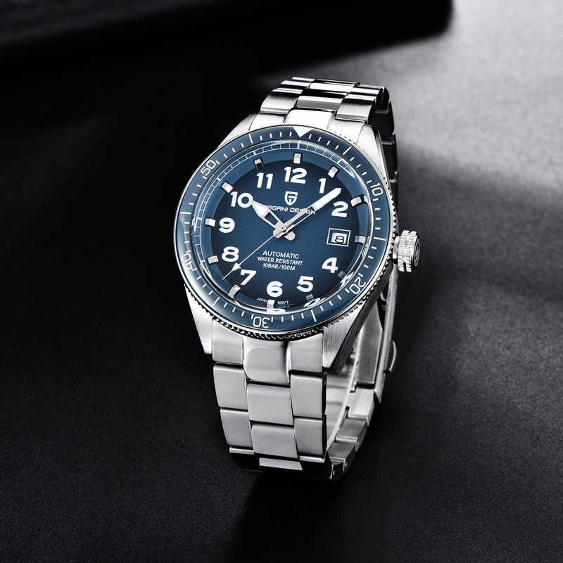 2020新パガーニデザイン機械式腕時計男性用高級自動腕時計メンズ防水鋼ビジネス腕時計レロジオmasculino