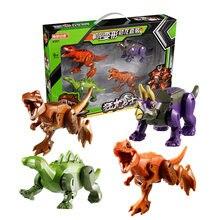 Новый парк и мир Юрского Периода Динозавры меха робот для мальчиков