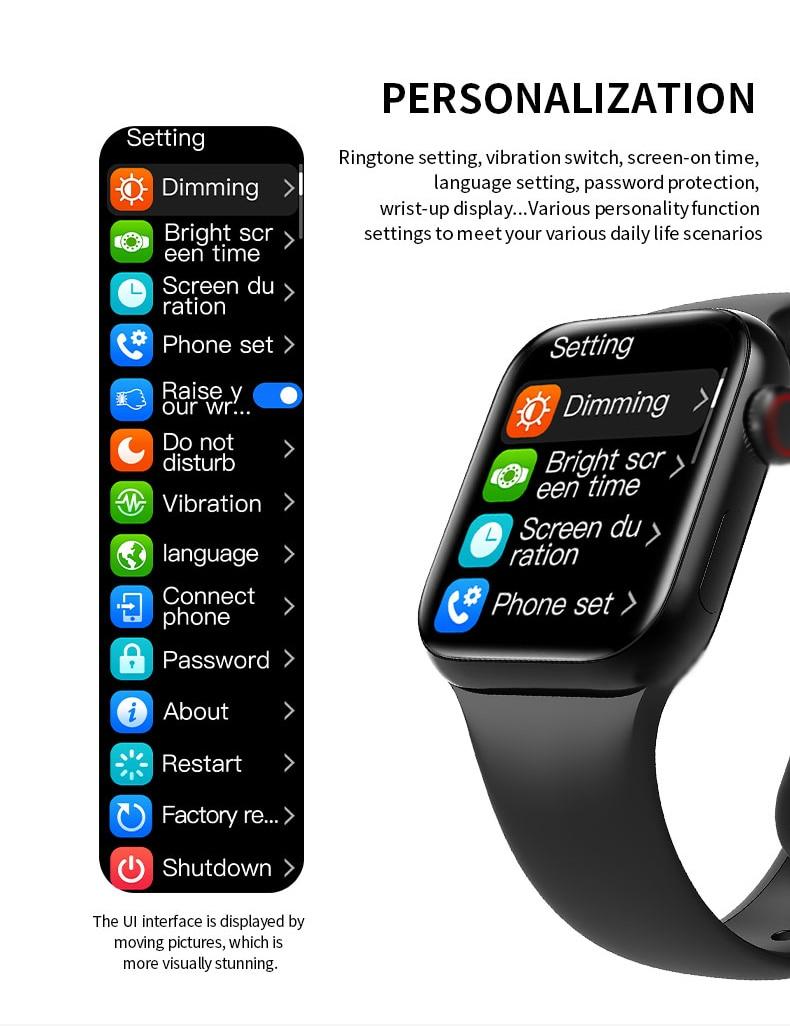 HW12 Series 6 Smart Watch