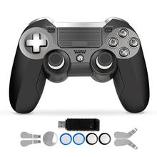 PS4 Controller,Dual Vibration Elite PS4 2.4G Wireless Game Controller Joystick for Play Station 4 Video Gaming Console and PS3 pad ps4 game controller ps4 bluetooth connection with touch pad elite controller ps4 game handles for ps4 console with 500mah