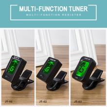 Acoustic Guitar Tuner Electronic Guitar Violin Ukulele Bass Tuning Tuner Stringed Musical Instrument Guitar Bass Accessories vintage tower type guitar metronome bell ring rhythm mechanical pendulum metronome for guitar bass piano violin accessories