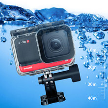 for Insta 360 ONE R 4K 360 Edition Underwater Diving Case Waterproof Box Diving Swimming Protective Cover Shell Camera Accessory(China)