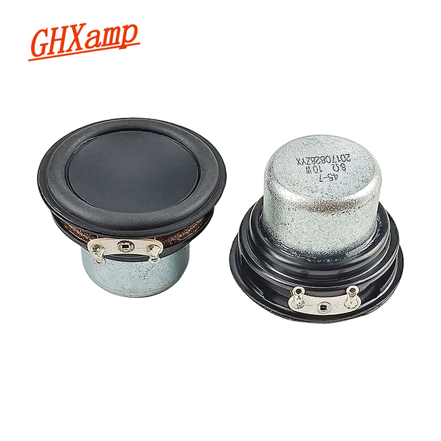 GHXAMP 1.75 inch 45mm Full Range Speaker Unit Large Neodymium 8OHM 10W Bluetooth Speaker DIY For Radio Mini Speaker 2PCS