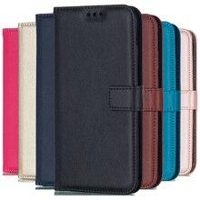 Однотонный кожаный чехол-бумажник для iPhone XS MAX X XR 5 5S SE 5C 6 6S Plus 7 8 Plus, откидной Чехол с отделением для карт, сумки для iPhone 4 4S