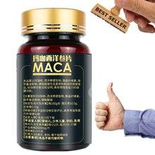 Maca tablet homem suplementos masculino realce pílula prolongar fortes ereções resistência dura ginseng pó ervas cuidados de saúde do corpo