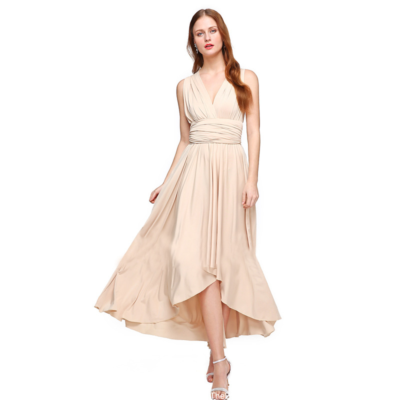 New Light Bridesmaid Dresses Pleated Floor Length Bridesmaid Dress Many Kinds Of Long Party Dinner Dress Gowns