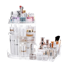 7-layer make-up table, 360 degree rotatable, multi-functional large storage platform, other function bags, bags180821103