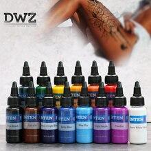 Новинка набор чернил для татуажа 30 мл/бутылка татуировки аэрограф