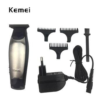 kemei beard hair trimmer electric kemei hair clipper rechargeable razor barber hair cutting shaving machine for man tool shaver