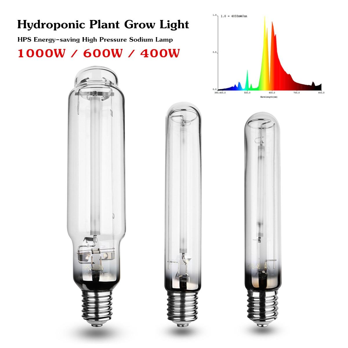 Лампа для выращивания растений E40, 400/600 Вт/1000 Вт, лампа для выращивания натрия, лампа для выращивания растений в помещении, лампа для выращива...